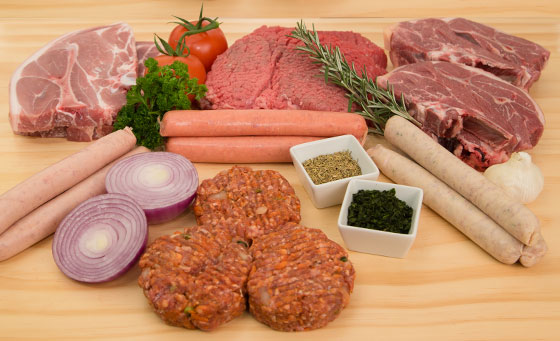 BBQ PACK 1: 4kg meat variety